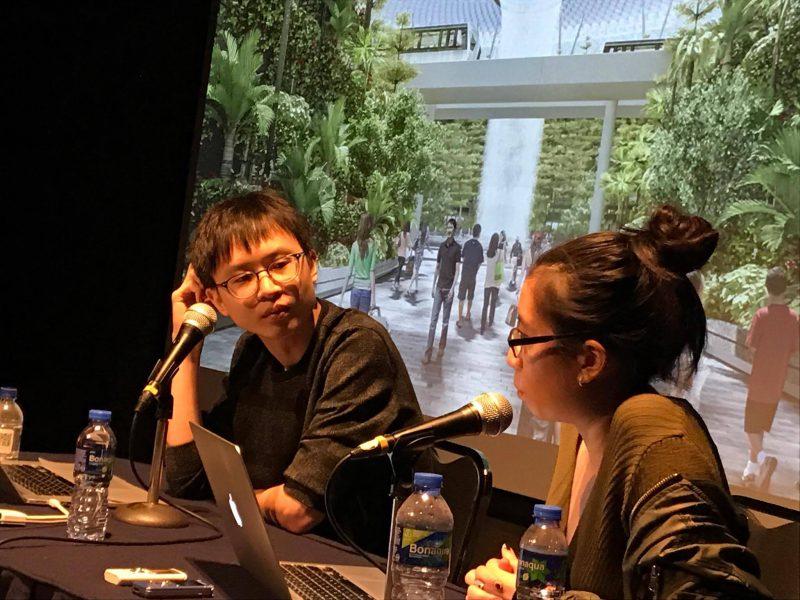 シンガポールの緑化イメージ戦略を端緒にした『Screen Green』など、シンガポールの 「フラット」な社会にわずかでも斬りこむ表現を実践する